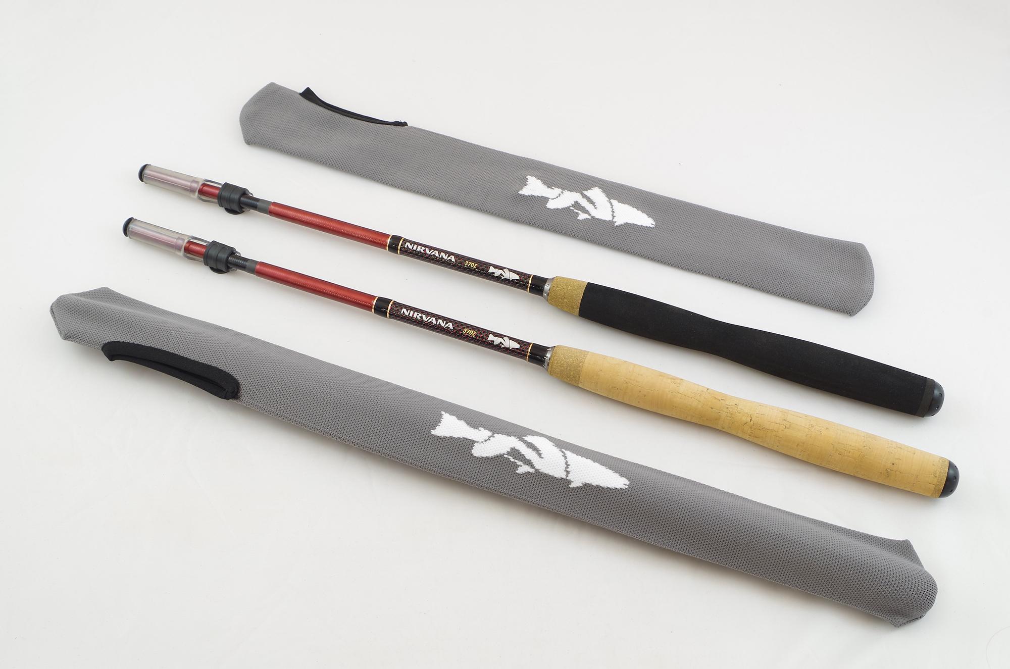 Nirvana 370z zoom tenkara rod nirvana on the fly for Fishing rod socks